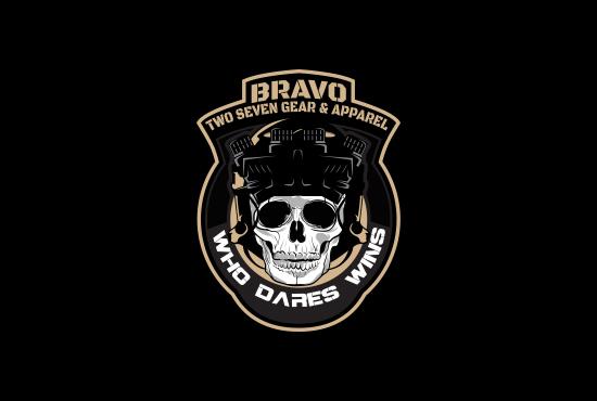 design military style logo design badge fiverr