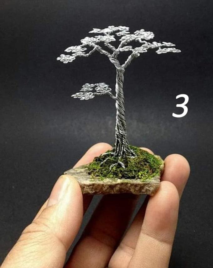 Make Wire Bonsai Tree Art Home Decor By Ycperera