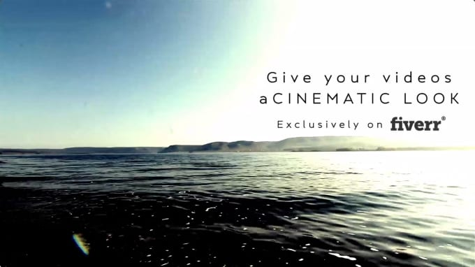 do professional video editing and cinematic color grading