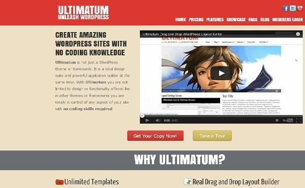 Design build custom basic wordpress theme using ultimatum wordpress ...