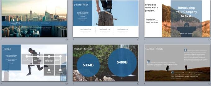give you a modern investor pitch deck PPT presentation