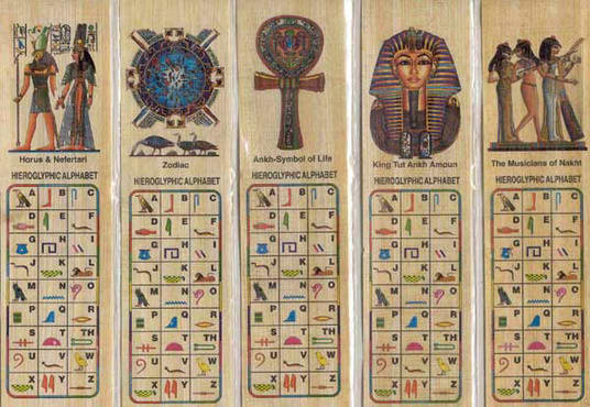 Write your name in arabic on a papyrus bookmark with hieroglyphics write your name in arabic on a papyrus bookmark with hieroglyphics alphabet on the front thecheapjerseys Images