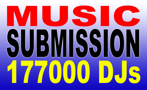 submit your music, track, song, dj pool of over a hundred and fifty  thousand djs