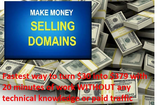 How To Make Money In 20 Min By Selling Domains