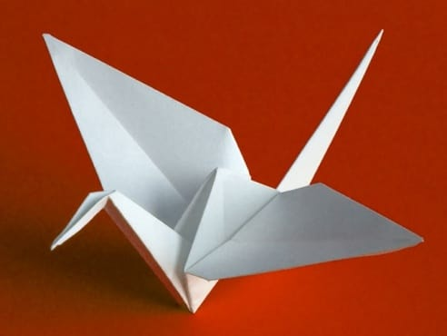 Fold Your Message Into An Origami Crane