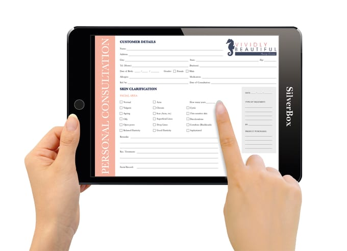 design a fillable form for ipad,iphone,android devices