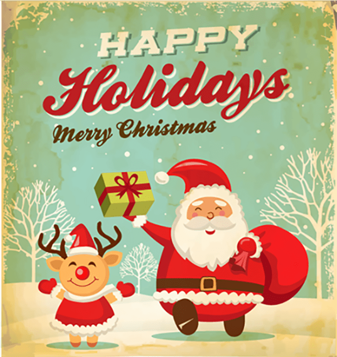 design cute christmas cards