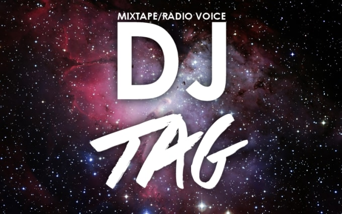 create your dj tag in radio voice
