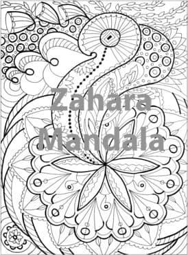 Mail You A Coloring Page Of Mandala Art PDF File