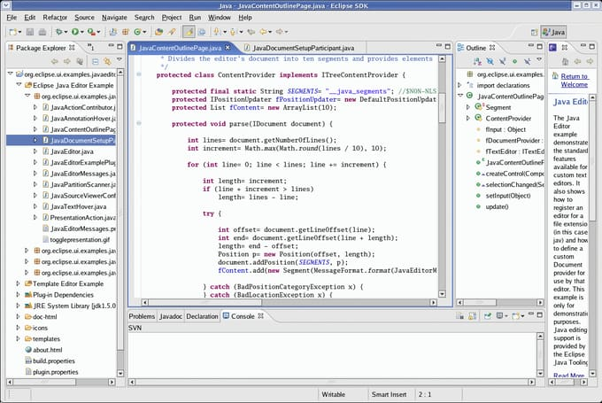 do java programming software fast