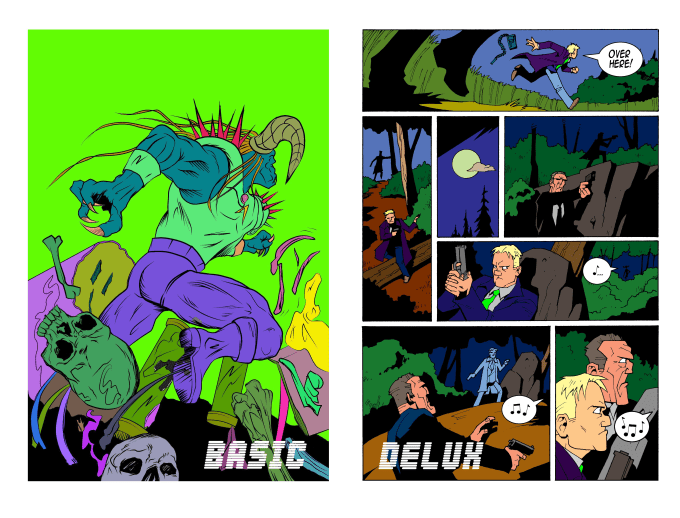 Color flat your comic book pages by Cepubdude