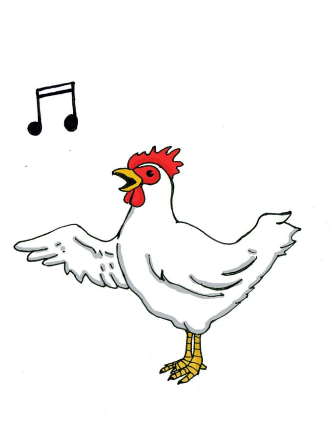 sing any song you want in chicken voice by chickenmandan