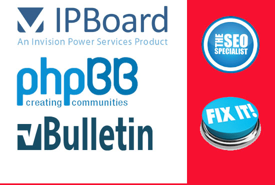boost forums ipb phpbb, mybb and build more stats with Seo