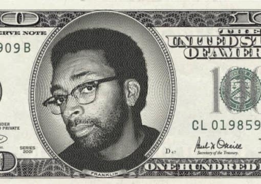 put your face on a 100 dollar bill and a coin using photoshop