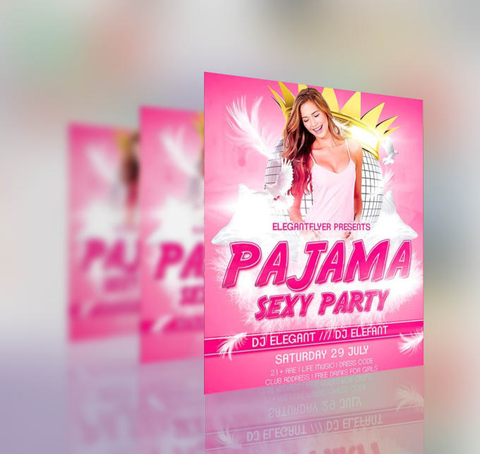 create professional party flyer design by videovoisor