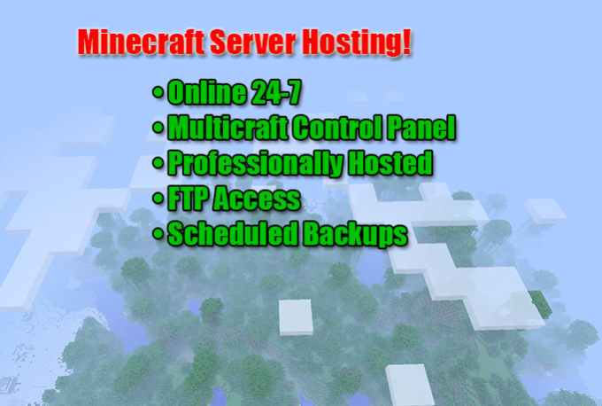host a Minecraft server for you and your friends