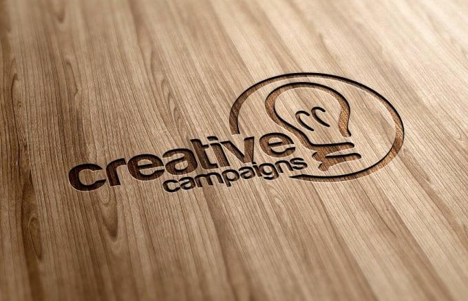 Genoeg Design your logo in laser cut wood by Randallseang #NO31