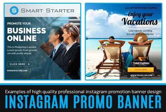 design an instagram banner