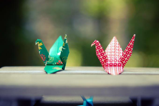 Fold You 100 Beautiful Origami Cranes By Vanillacloud