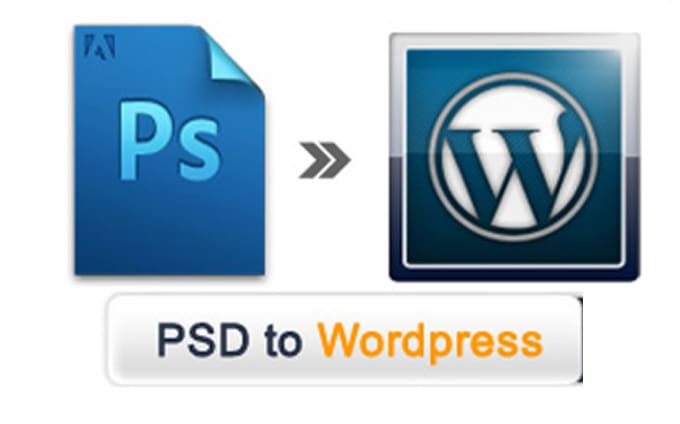 Convert psd to wordpress, psd to wordpress theme by Patdev