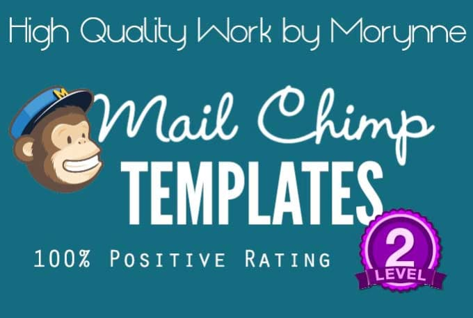 great mailchimp templates - create a killer mailchimp template by morynne
