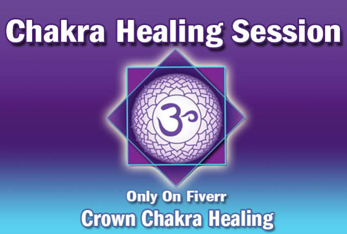 perform a crown chakra healing session on you