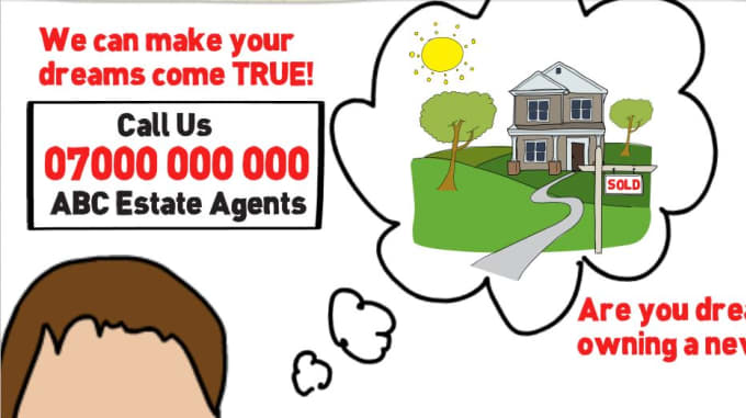 Sell my estate agent / realtor sparkol videoscribe template by Lucas4