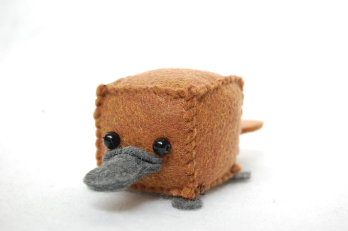 Make you a cube platypus by Breathlessbloom