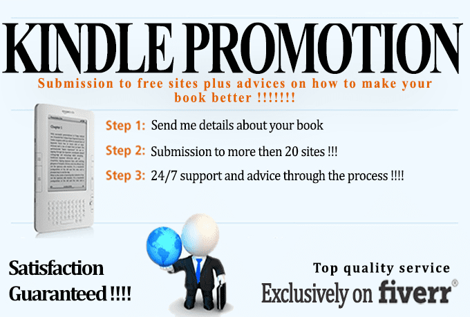 submit Your FREE Kindle Book To 25 Best Kindle Promotion Sites