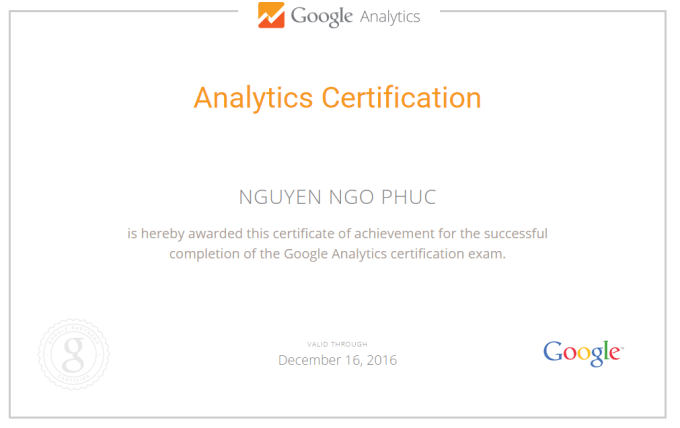 Give you answers on google analytics certification exam by Regnet