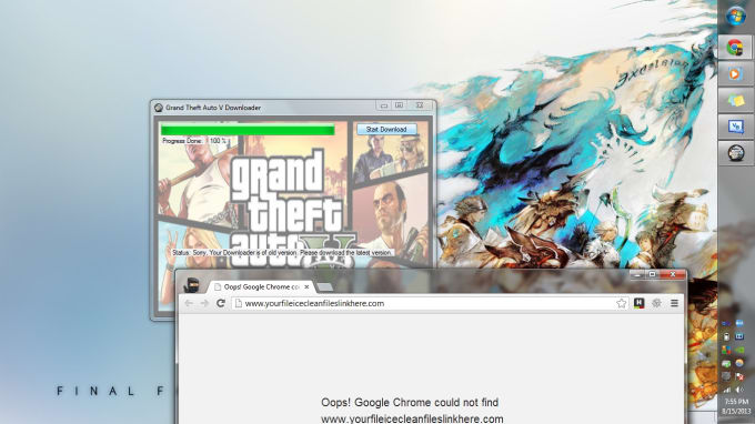 chris1025 : I will make a fake gamer trainer/downloader for your PDD needs  for $5 on www fiverr com