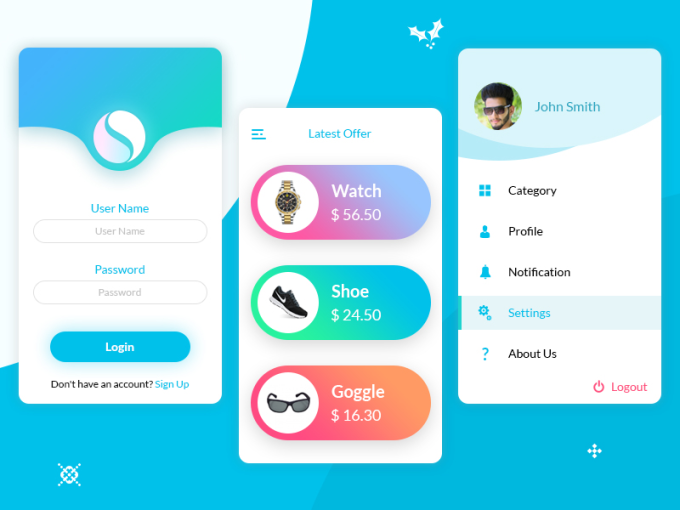 Design awesome ui for iphone and android by mamcreative - Design my home app ...