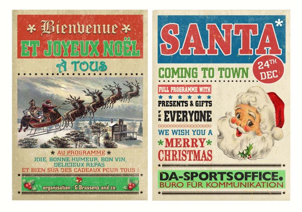 Retro Christmas.Design Retro Christmas Poster Invitation Or Card