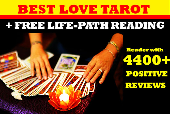 give best tarot reading about your love and life