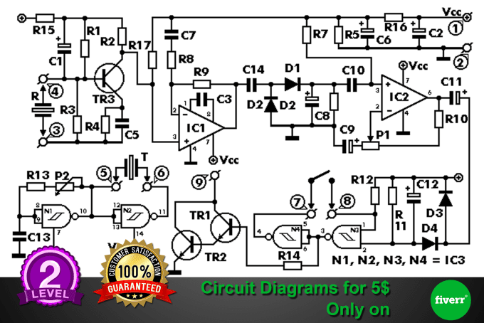 Admirable Draw Electronics Circuit Diagrams By Thrilanka Wiring Digital Resources Indicompassionincorg