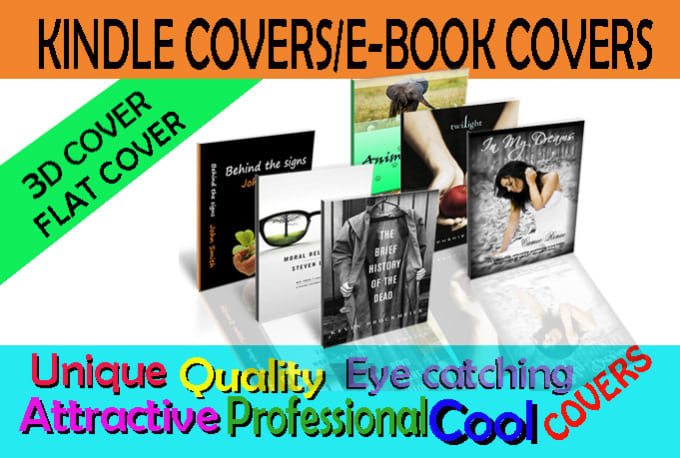 Kindle Book Cover Design Specs : Professionally design creative kindle e book cover by edit
