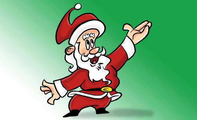 Christmas Cartoon Drawings.Draw A Professional Christmas Cartoon Character