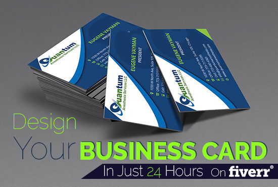 Design your business card amazingly in just 24 hours by arshbrando colourmoves Choice Image