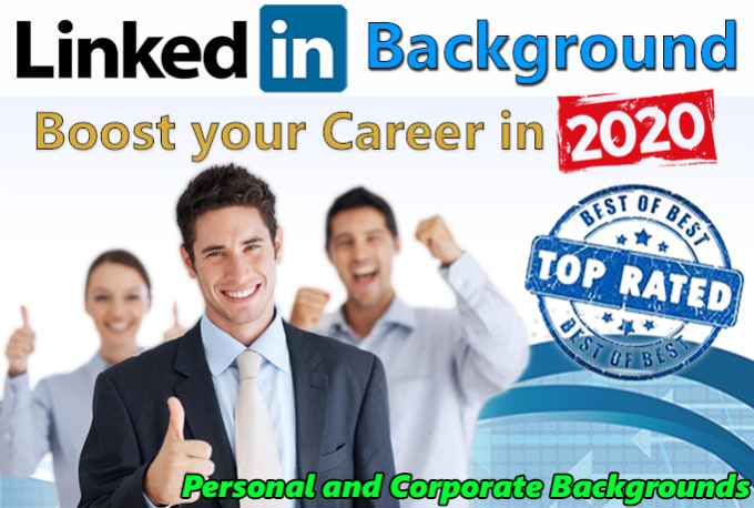 Create Linkedin Background Banner Cover