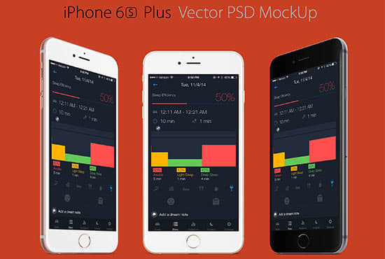 10 mobile app screen mockup