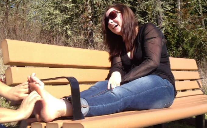 Girls barefoot girls videos busty black