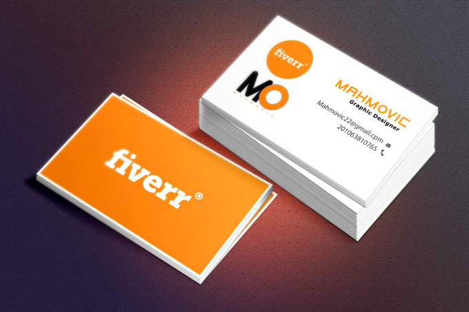 Design clean business card within 24 hrs by mahmovic design clean business card within 24 hrs colourmoves