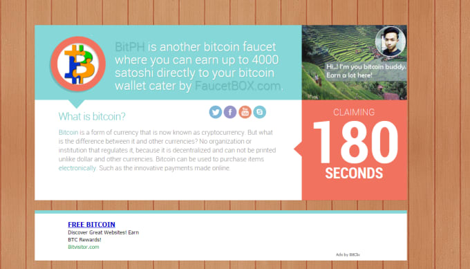 Going to sell my bitcoin faucet script by Trizeth09