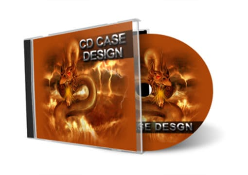 design awesome cd case cover by vikiana