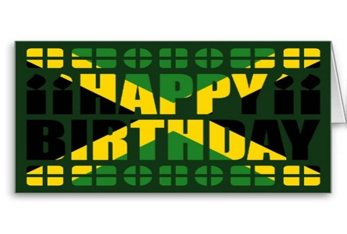 Happy birthday song in jamaican