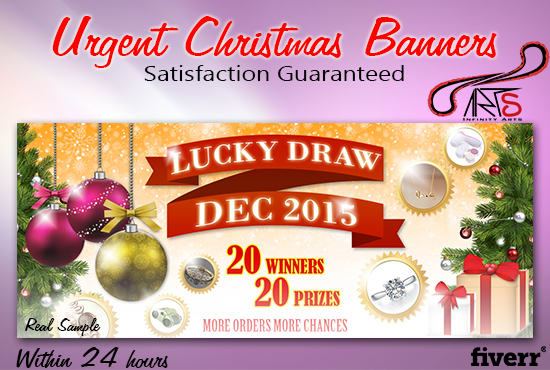 Christmas Banners.Shaixey I Will Urgently Design A Christmas Banner In 24 Hours For 5 On Www Fiverr Com