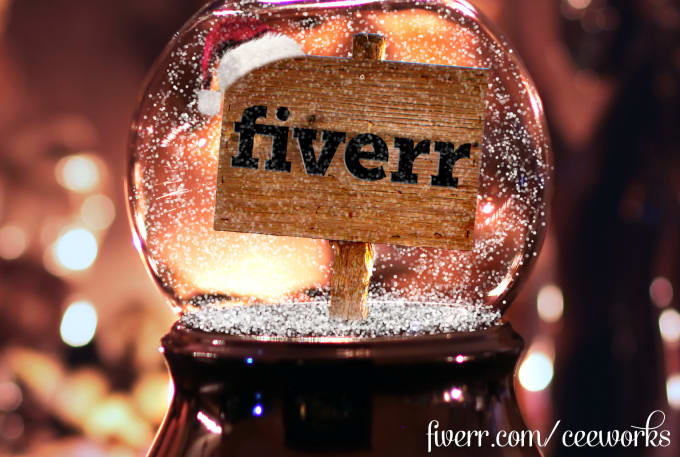 Put Your Logo Or Message In A Snow Globe For Christmas By Ceeworks