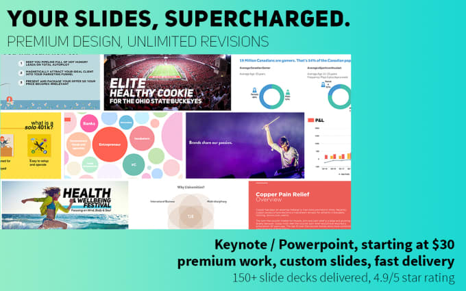 design a clean powerpoint or keynote presentation by designtechy