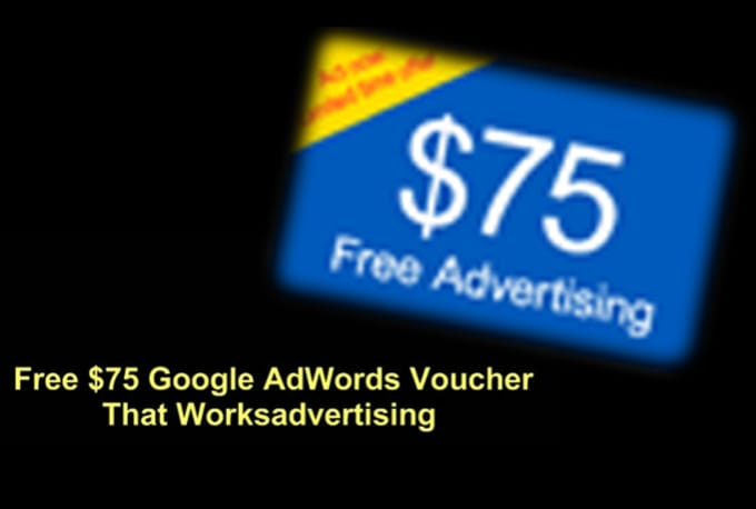 provide you 25 x 75 USD google adwords coupon