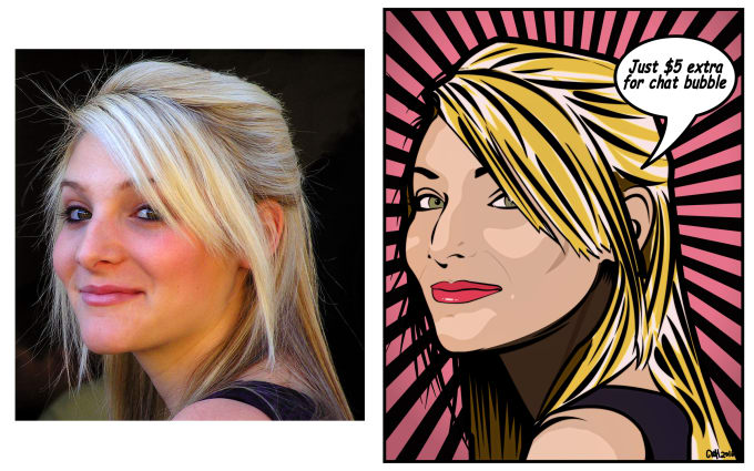 Turn Your Color Photo Into Comic Book Art By Mousetivity